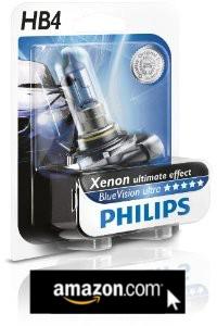 PHILIPS Xenon ultimate effect BlueVision ultra HB4 für die Nebelscheinwerfer deines VW T5