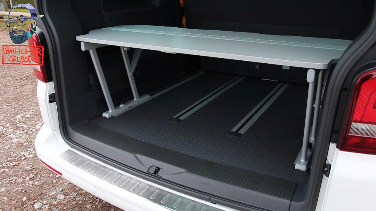 Videoanleitung: Multiflexboard VW T5 Multivan und California