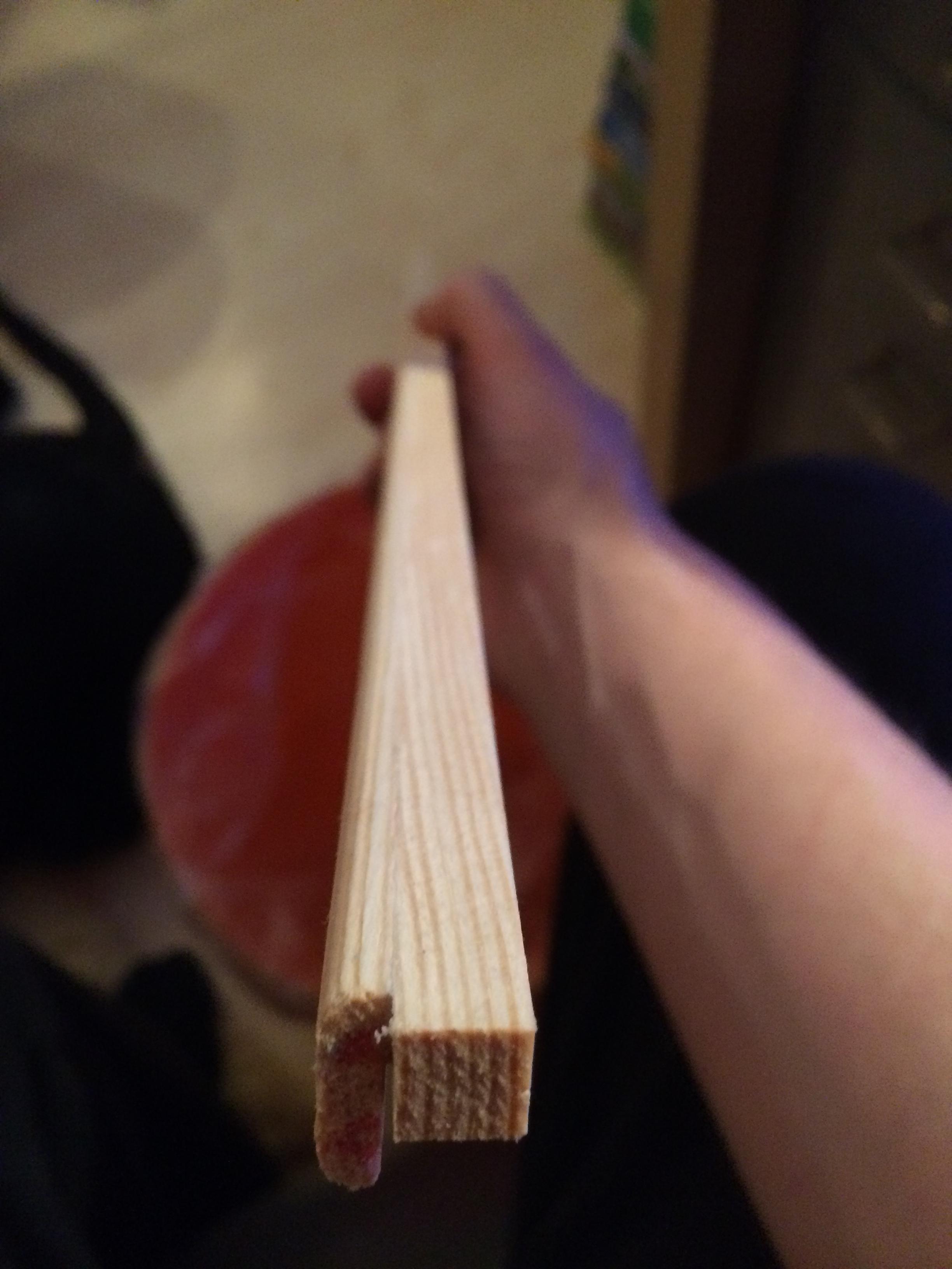 Selbstbauanleitung Tablet-Halter für die Küche - Leisten geleimt und geschliffen