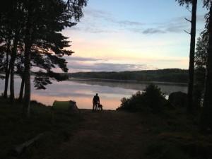 Schweden_VW_T5_California_Camping_Juli_August - Arvika_Wildcamping