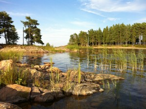 Schweden_VW_T5_California_Camping_Juli_August - Ekenäs_Vänernsee