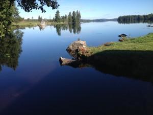 Schweden_VW_T5_California_Camping_Juli_August - See, Angeln