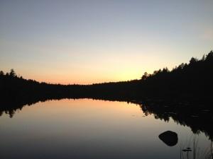 Schweden_VW_T5_California_Camping_Juli_August -Wildcamping_Sonnenuntergang_Abendstimmung