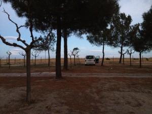 California Edition Camping Frankreich November - Mittelmeer Kueste Argeles-sur-Mér