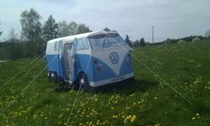 VW_T5_ California_Camping_Deutschland_Hammerschmiedesee_See_Bullizelt_T1