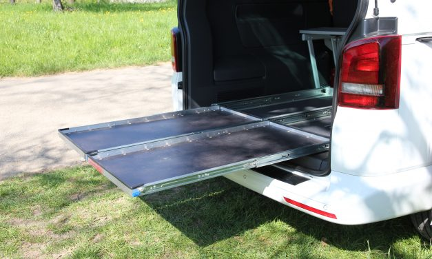 Selbstbauanregung: Heckauszug 2.0 für den VW T5 T6 California Beach / Multivan