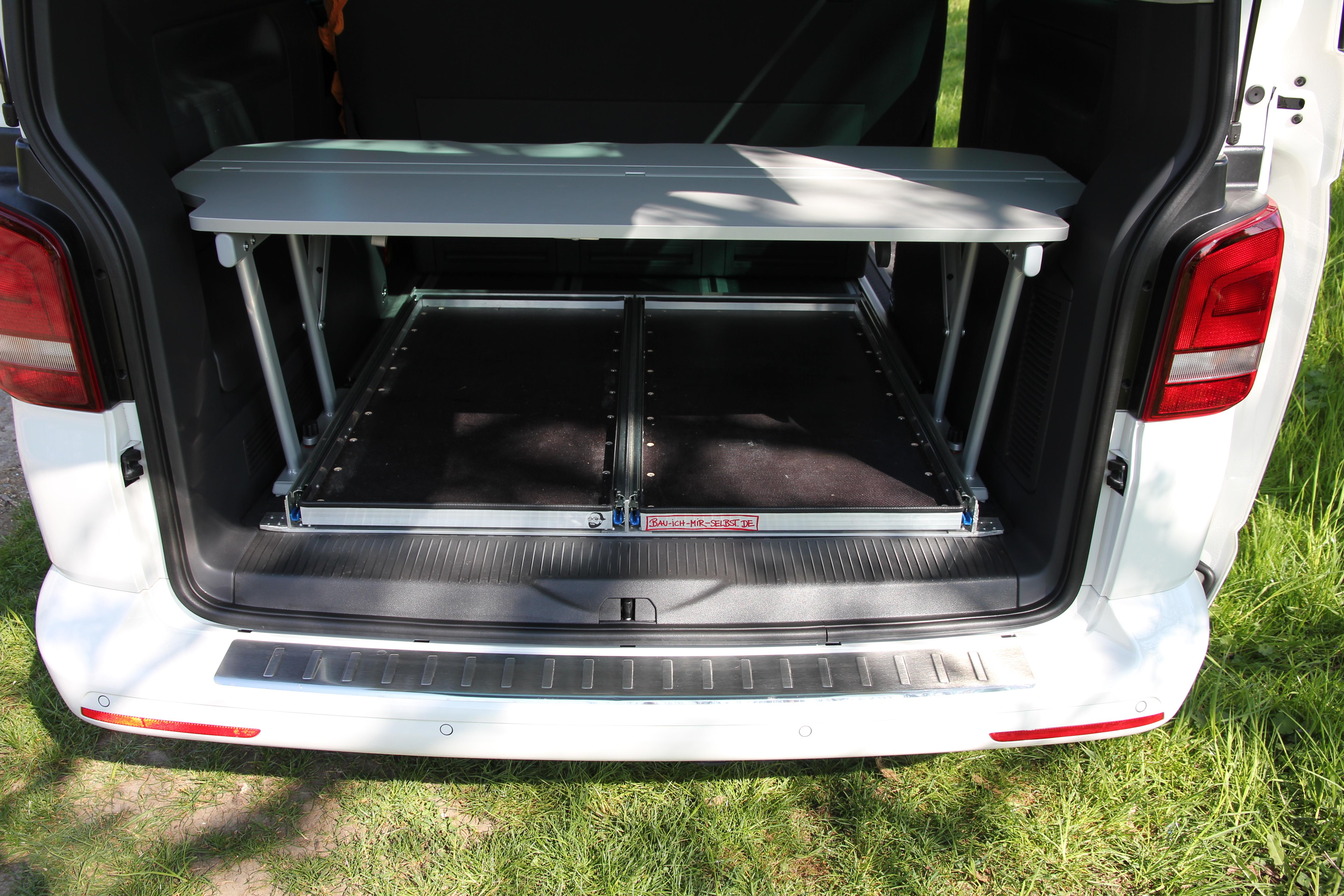 Heckauszug VW T5 California Multivan fertig 11