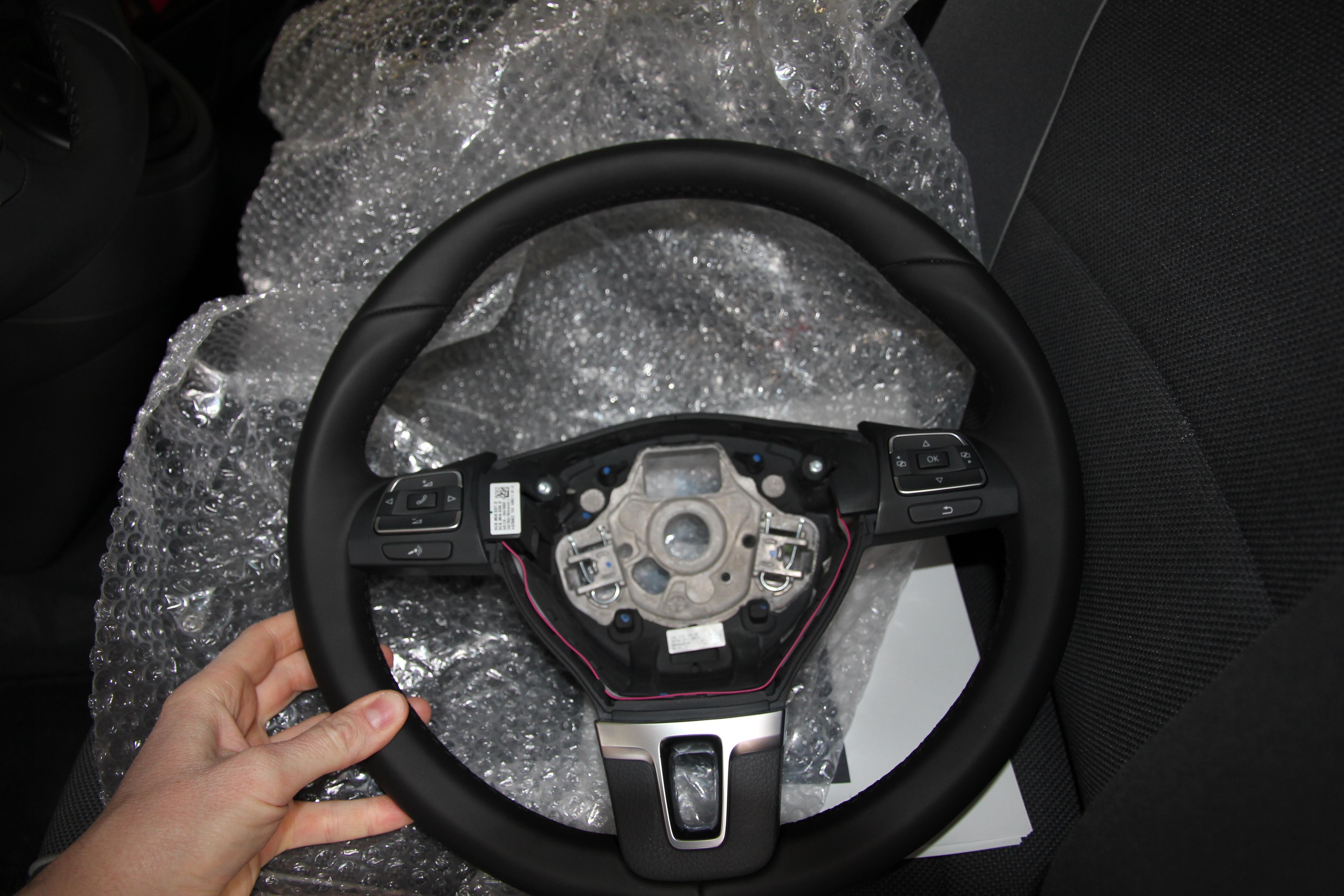 VW T5 Multivan California Lenkrad Umbau Schaltwippen DSG Tuning 02