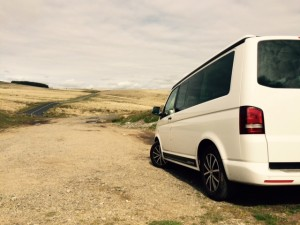VW T5 California Roßbritannien Nationalpark Exeter UK Roadtrip Dartmoor Camping Südküste Wildcamping