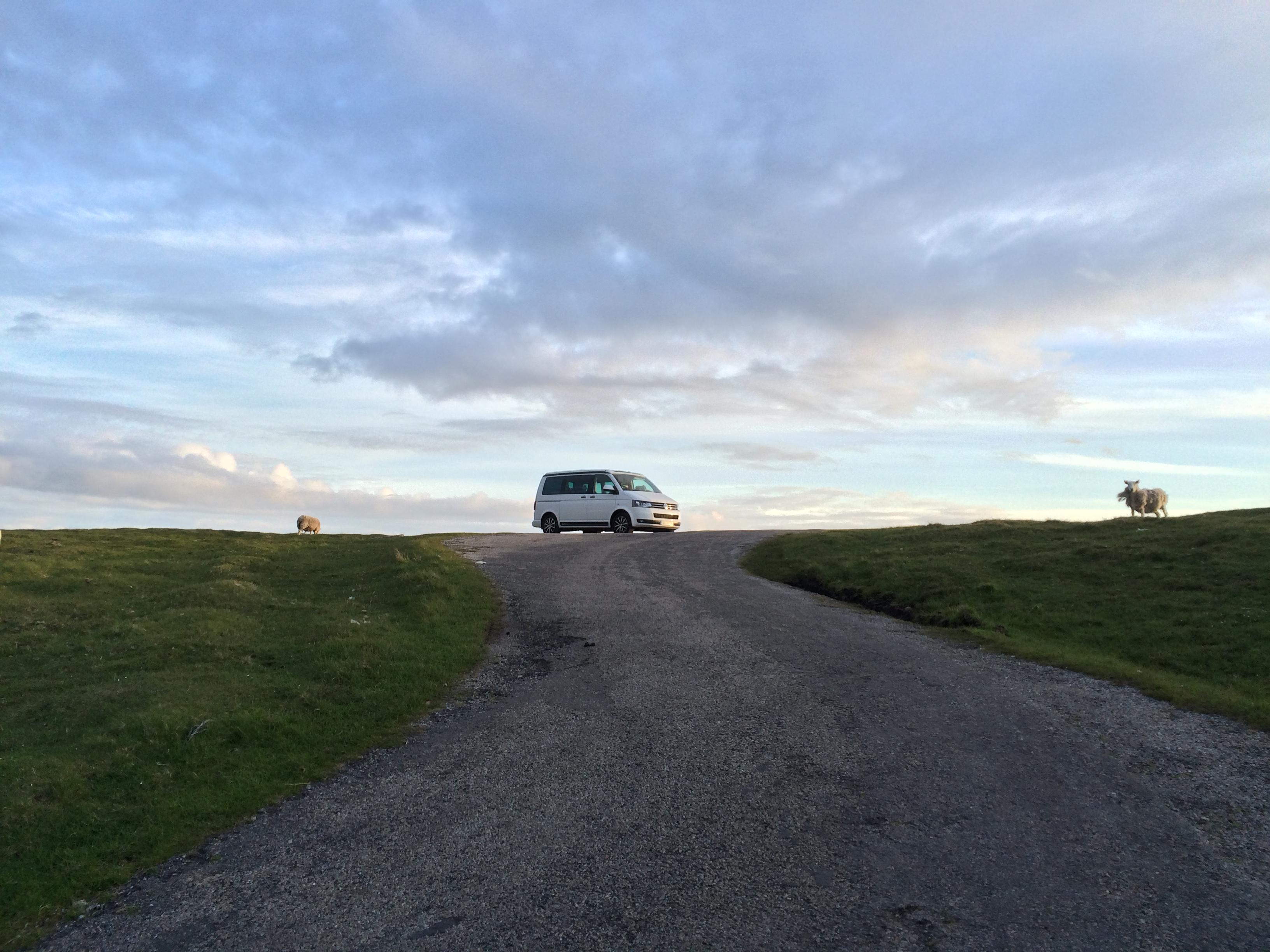 Über die Freiheit mit einem VW California auf Reisen zu sein