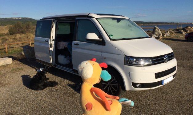 Mit Baby und Hund im VW-Bus auf Europatour