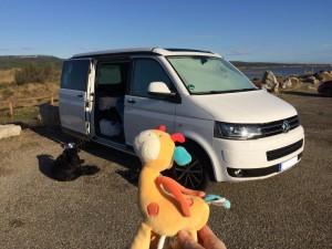 Camping mit Baby T5 T6 VW Strand Ländervergleich