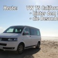 VW T5 California Beach REVIEW Anleitung Bett Dach Bedienung comfortline Multivan