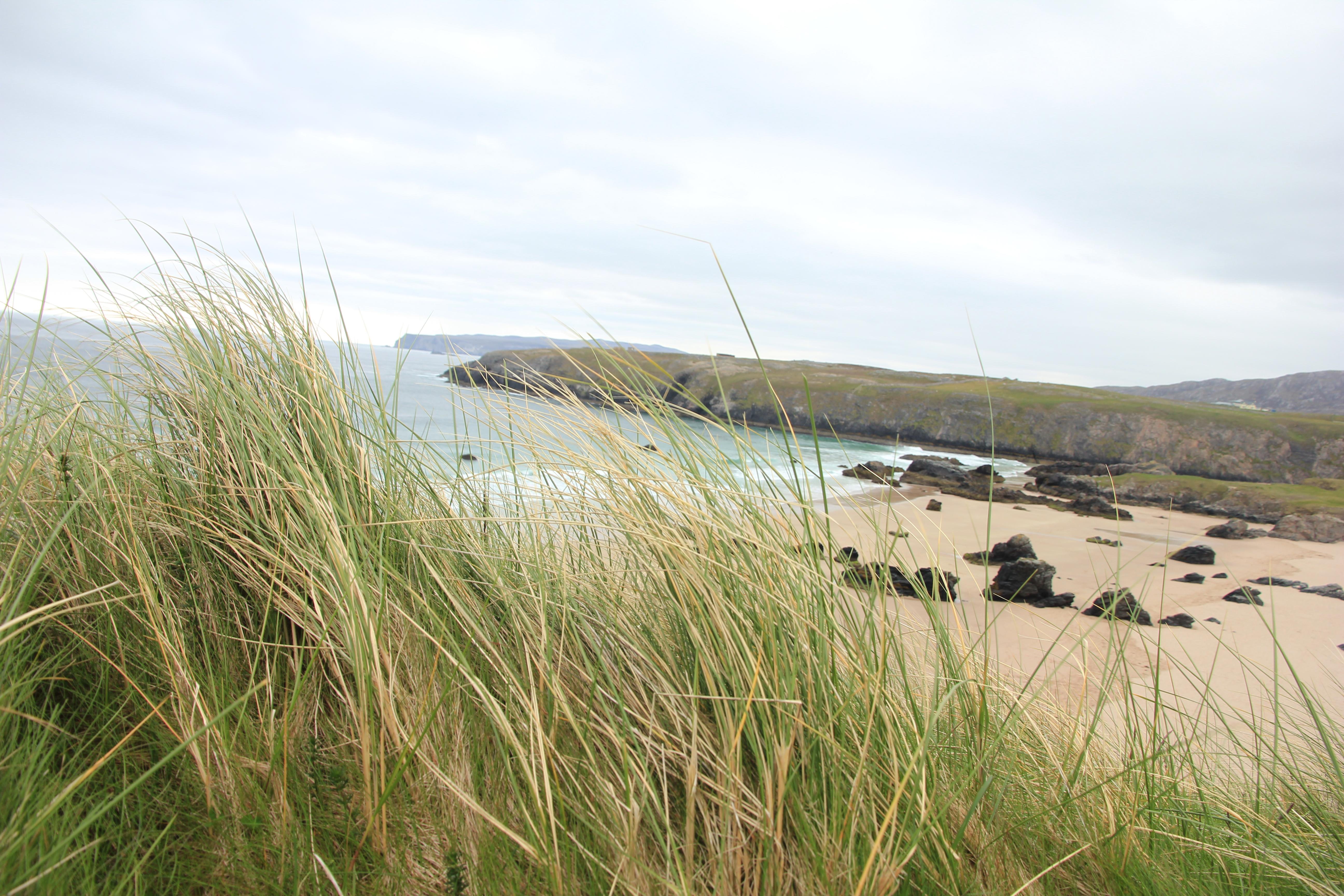 VW T5 T6 California Schottland Roadtrip 2015 Wildcamping Durness Westküste Meer Strand