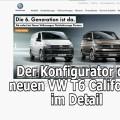 VW T6 T5.3 California Konfigurator Beach Coast Ocean