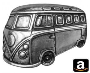 VW Volkswagen Bulli Bully Bus California T1 T2 T3 T4 T5 T6 Camping Gimmick Must have Geschenk idee Fan Gadget Gürtelschnalle