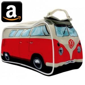 VW Volkswagen Bulli Bully Bus California T1 T2 T3 T4 T5 T6 Camping Gimmick Must have Geschenk idee Fan Gadget Kosmetiktasche