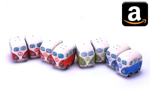 VW Volkswagen Bulli Bully Bus California T1 T2 T3 T4 T5 T6 Camping Gimmick Must have Geschenk idee Fan Gadget Salzstreuer