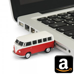 VW Volkswagen Bulli Bully Bus California T1 T2 T3 T4 T5 T6 Camping Gimmick Must have Geschenk idee Fan Gadget USB-Stick