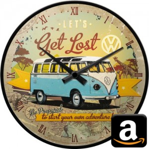 VW Volkswagen Bulli Bully Bus California T1 T2 T3 T4 T5 T6 Camping Gimmick Must have Geschenk idee Fan Gadget Uhr