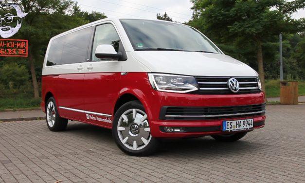 Videos von unserer ersten Probefahrt mit dem neuen VW T6 Multivan