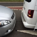 Unfall im Ausland VW Volkswagen Schottland Großbritannien EU California Bus Multivan Schaden Heck