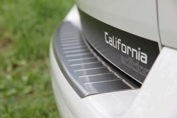 Ladekantenschutz Edelstahl VW Volkswagen T5 Multivan California Caravelle Stoßfänger Stoßstange Montage Video Anleitung klein