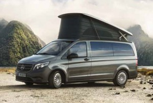 Mercedes V-Klasse Marco Polo Activity Campervan Vergleich
