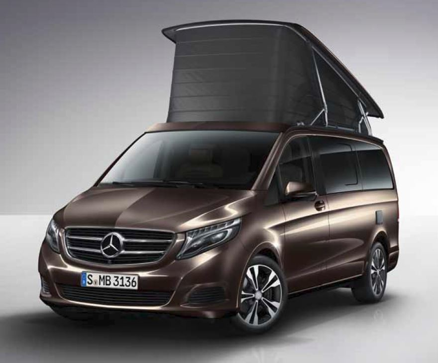 reisemobile im vergleich vw t6 california mercedes benz marco polo ford transit custom. Black Bedroom Furniture Sets. Home Design Ideas