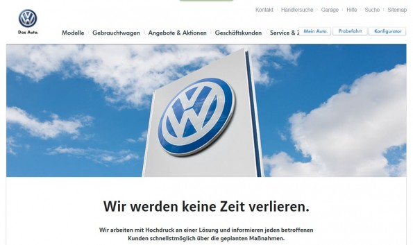 VW Abgas Skandal Affäre News Software Info Stickoxide