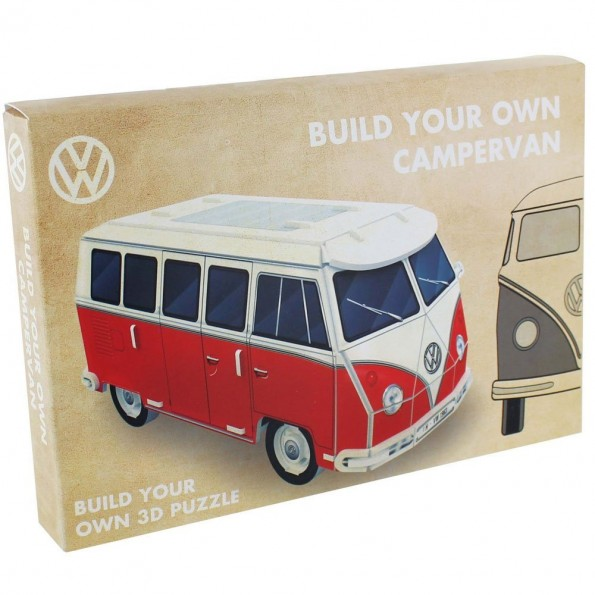 Weihnachten VW Geschenk Idee T5 T6 T4 T3 T2 T1 Bastelbogen Papier build your own Bus