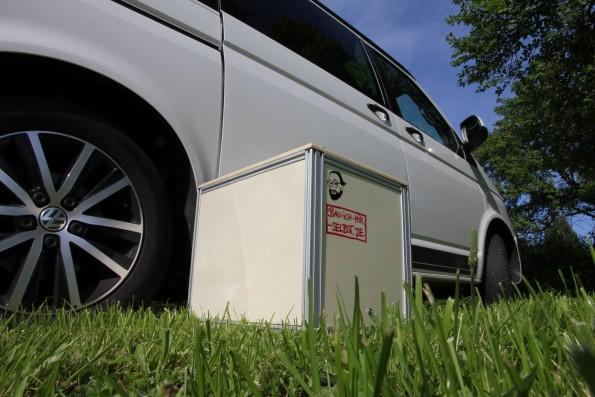 resized_VW T5 Bus Bully Wohnmobil Waschbecken Modul Campingkueche SlideOut - Bau 101