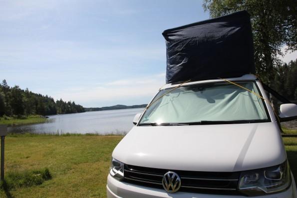 VW T5 T6 California Aufstelldach Calicap Muetze Haube Regen Sonne 7586