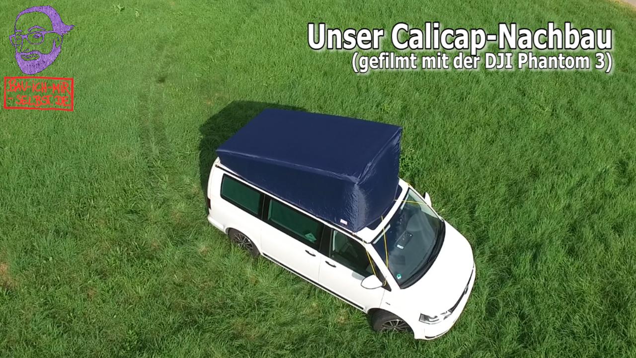 Mütze für das VW California Aufstelldach - unser Calicap-Nachbau