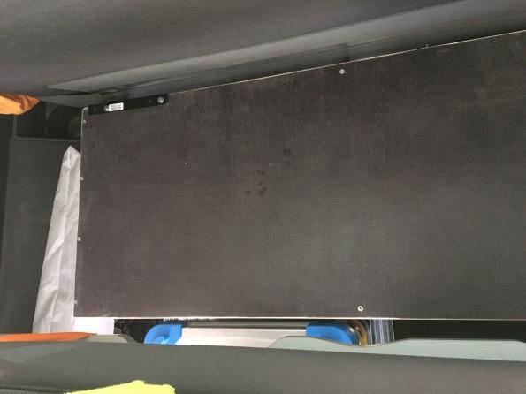VW T5 T6 California Multivan Gepaeck Kofferraum Trennnung Heckauszug 8653