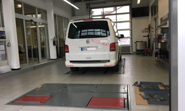 VW T5 California Beach -die erste Inspektion