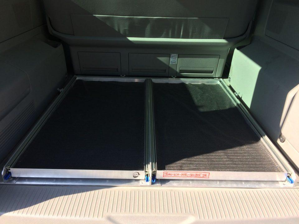 Heckauszug VW T5 T6 Selbstbau Nachbau California Beach Multivan_3764