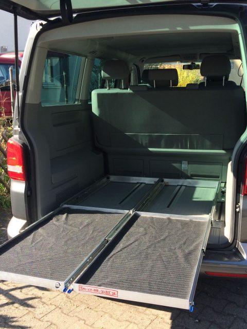 Heckauszug VW T5 T6 Selbstbau Nachbau California Beach Multivan_3765
