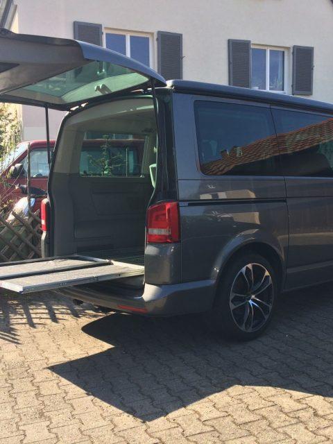 Heckauszug VW T5 T6 Selbstbau Nachbau California Beach Multivan_3769
