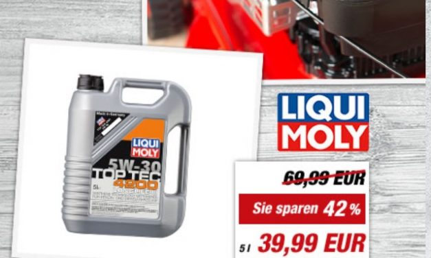 LIQUI MOLY Top Tec 4200 Motoroel diese Woche im Angebot bei toom-Baumarkt
