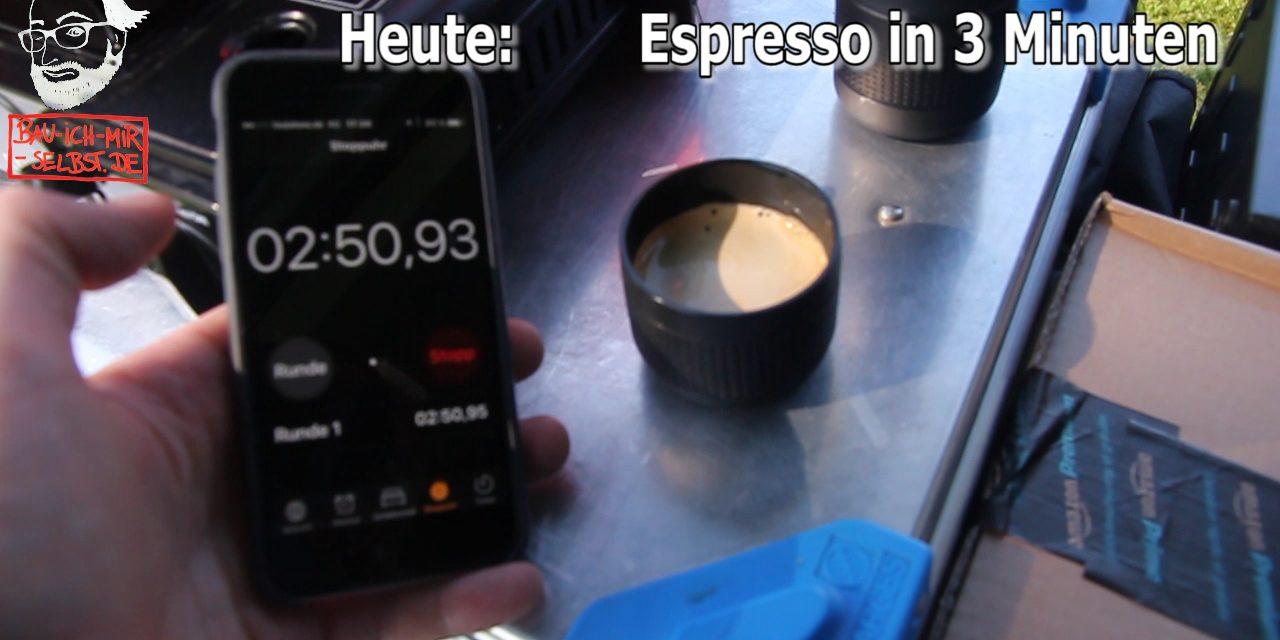 Outdoor Espresso in unter 3 Minuten