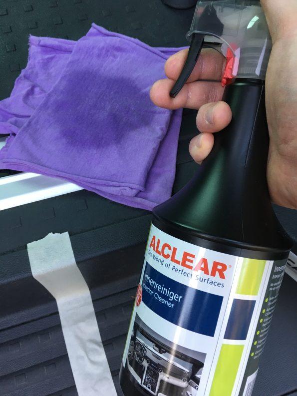 Test Kunststoff Pflege sauber putzen reinigung VW T5 T6 Bus California Multivan Camper 2658