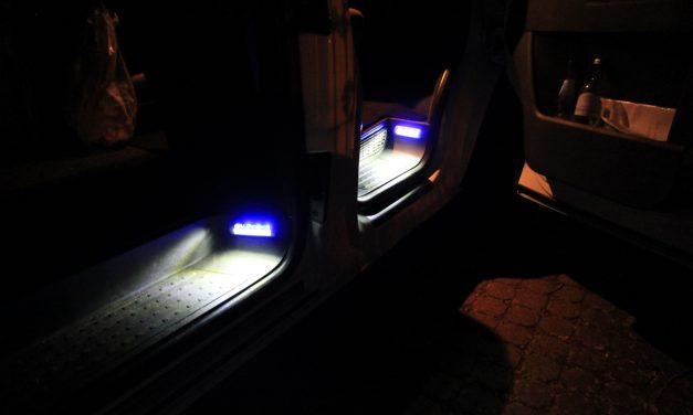 Empfehlung: VW T5 Trittstufenbeleuchtung auf LED umbauen