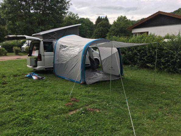 VW T5 Vorzelt Luft Pumpe Airbase Quechua Camper Van IMG_4485