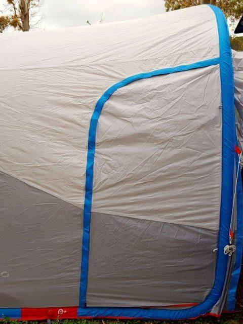 VW T5 Vorzelt Luft Pumpe Airbase Quechua Camper Van IMG_445101