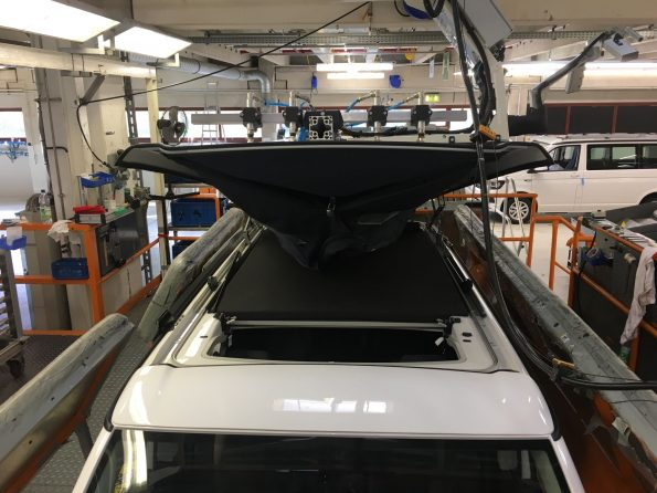 VW California Fertigung Produktion Halle 1