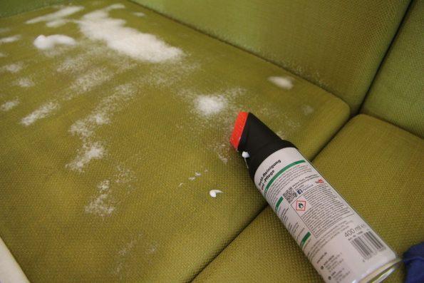 Test Polster Schaum Reiniger Pflege sauber putzen reinigung VW T5 T6 Bus California Multivan Camper _IMG_9166