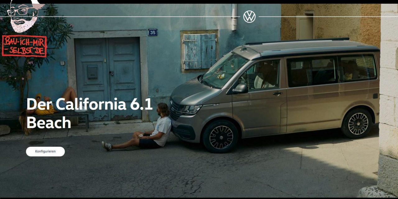 Videoreihe: der VW T6.1 Konfigurator vom neuen VW Bus – vier Videos