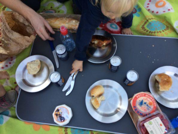 Camping Kinder Edelstahl Geschirr Teller Picknick