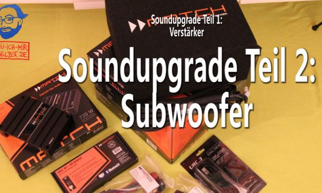 VW T5 Subwoofer – Soundupgrade Teil 2/3